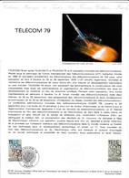 Document 1er Jour Télécom 79 - Lettres & Documents