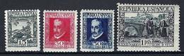 ⭐ Espagne - YT N° 534 à 537 ** - Neuf Sans Charnière - 1935 ⭐ - 1931-50 Neufs