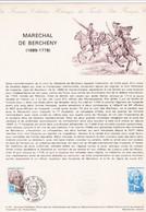 Document Maréchal De Bercheny - Lettres & Documents