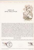 Document 1er Jour Abeille Apis Mellifica - Lettres & Documents