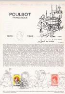 Document 1er Jour Poulbot Francisque - Lettres & Documents