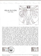 Document 1er Jour Félix Guyon - Lettres & Documents