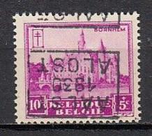 5937 Voorafstempeling Op Nr 308 - AALST 1930 ALOST - Positie D - Roulettes 1930-..