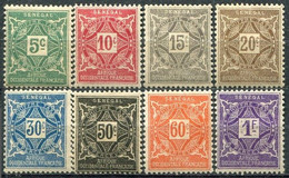 SÉNÉGAL - Y&T Taxe N° 12-19 * - Postage Due