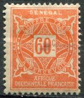 SÉNÉGAL - Y&T Taxe N° 18 * - Postage Due