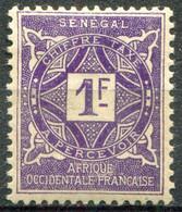 SÉNÉGAL - Y&T Taxe N° 19 * - Postage Due