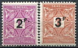 SÉNÉGAL - Y&T Taxe N° 20-21 * - Postage Due