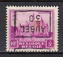 5941 Voorafstempeling Op Nr 308 - AUBEL 30 - Positie D - Roulettes 1930-..