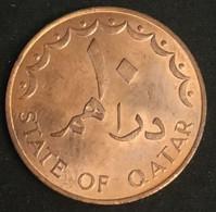QATAR - 10 DIRHAMS 1973 ( 1393 ) - KM 1 - Qatar