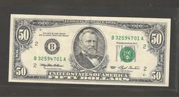 Etats Unis D'Amérique, 50 Dollars, 1993 Series - Other