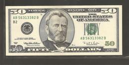 Etats Unis D'Amérique, 50 Dollars, 1996 Series - Other