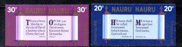 APR2051 - NAURU 1981 , Serie Yvert N.  233/2360   ***  MNH  (2380A)  Natale Christmas - Nauru
