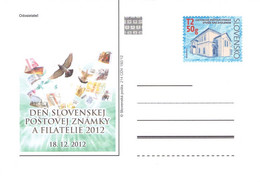 SLOWAKIA - POSTCARDS 2012 STAMP EXHIBITION 214 CDV 192/12 /Q318 - Postcards