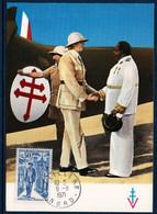 FRCM   1971 Anniversaire Du Décès Du Général De Gaulle Le 9/11/70  - N°YT 1696 Oblit. Lille  9/11/71 - 1970-79