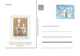 SLOWAKIA - POSTCARDS 2010 194 CDV 192/11 Unc /Q323 - Postcards