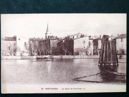 13 , Martigues,le Quai De Ferrières    ..scan Recto  Verso - Martigues