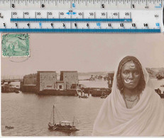 EGYPTIAN TEMPLE IN THE NILE - SUDANESE WOMAN - Afrique
