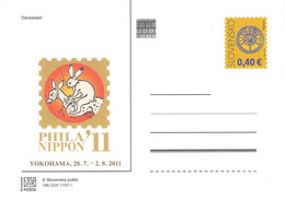 SLOWAKIA - POSTCARDS 2011 PHILA 'NIPPON 199 CDV 179/11 Unc /Q325 - Postcards