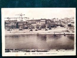 13 , Port De Bouc ,le Cours Landrivon ,vue Générale    ..scan Recto  Verso - Other Municipalities
