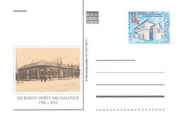 SLOWAKIA - POSTCARDS 2011 MICHALOVCE 197 CDV 192/11 Unc /Q326 - Postcards