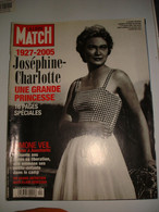 ANCIENNE REVUE PARIS MATCH PRINCESSE JOSEPHINE CHARLOTTE 2005 - Gente