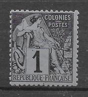 Colonies Générales Alphée Dubois N° 46 ** TTBE - Cote Y&T 2020 De 6 € - Alphée Dubois