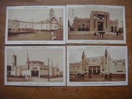 Lot De 8 Cartes De L'Exposition De LIEGE 1930 - Centenaire Indépendance Belgique ( France/Luxembourg/Transports/Armes .. - Liege
