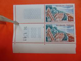 N° 1355 D+h** Le Touquet T à N - - Variétés: 1960-69 Neufs