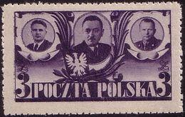 1946 Poland Mi 439, July Manifesto, Sejm, B. Bierut, MNH** - Unused Stamps