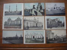 Lot De 24 Cartes De L'Exposition De LIEGE 1905 - Liege