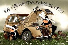 CPM - MAM-GOZ Attitude - Illustration Nikolaz LE CORRE - Rallye (Dessin Citroën 2CV) ... Edition Celtik Diffusion - Other Illustrators