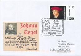 Albrecht Dürer, Albrecht Von Brandenburg, Reformation Und Ablasshandel  Martin Luther In Halle/Saale - Unclassified