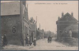 Levergies , La Rue De Sequehart , Animée - Autres Communes