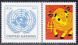 2021 Année Du Buffle ** - Unused Stamps