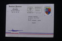 NOUVELLE CALÉDONIE - Enveloppe De L 'Institut Pasteur De Nouméa Pour Fresnes En 1989 - L 90356 - Storia Postale
