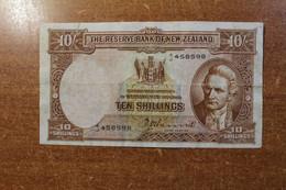 New Zealand 10 Shillings 1967 RK - New Zealand