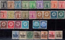 Deutsches Reich Lot Lückenfüller */gest - Collections
