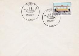 Enveloppe 2079 Oostende 1 Filatelie - Cartas