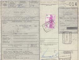 Postcolli - Colis Postaux - 014 - Bruxelles - ALLIBERT - Schoenbenodigdheden / Shoe Items / Accessoires Chaussures - 1952-....