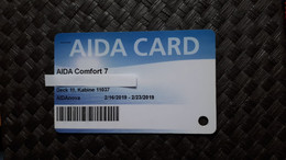 AIDA - NOVA - Cartas De Hotels
