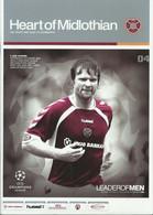 HEART OF MIDLOTHIAN – AEK ATHENS 2006-2007 UEFA CHAMPIONS LEAGUE MATCH PROGRAM - FOOTBALL - SOCCER - 1950-Now