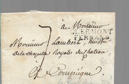 LETTRE ANCIENNE - 1801-1848: Précurseurs XIX
