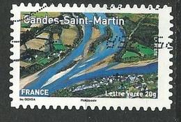 FRANCE   /  N° 844  - Y&T /  2013  -  Oblitéré - Adhesive Stamps