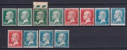 1923/26 - YVERT N° 170/181 ** MNH - COTE = 190 EUR. - PASTEUR - Neufs