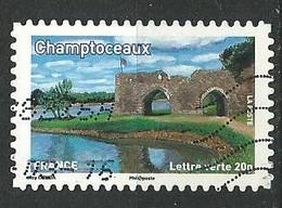 FRANCE   /  N° 845  - Y&T /  2013  -  Oblitéré - Adhesive Stamps