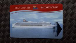 Star Cruises Cabin Card - Cartas De Hotels