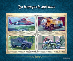 DJIBOUTI 2020 - Special Transport, Motorbike BMW. Official Issue [DJB200615a] - Motos