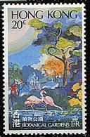 Hong Kong ** N° 358 - Parcs Nationaux. Oiseau : Flamands Roses - Neufs