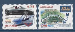 ⭐ Monaco - YT N° 2487 Et 2488 - Neuf Sans Charnière - 2005 ⭐ - Unused Stamps