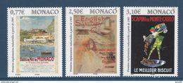 ⭐ Monaco - YT N° 2494 à 2496 - Neuf Sans Charnière - 2005 ⭐ - Unused Stamps